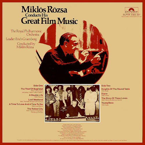 RE-RECORDINGS   #10 MIKLOS ROZSA CONDUCTS HIS GREAT FILM MUSIC